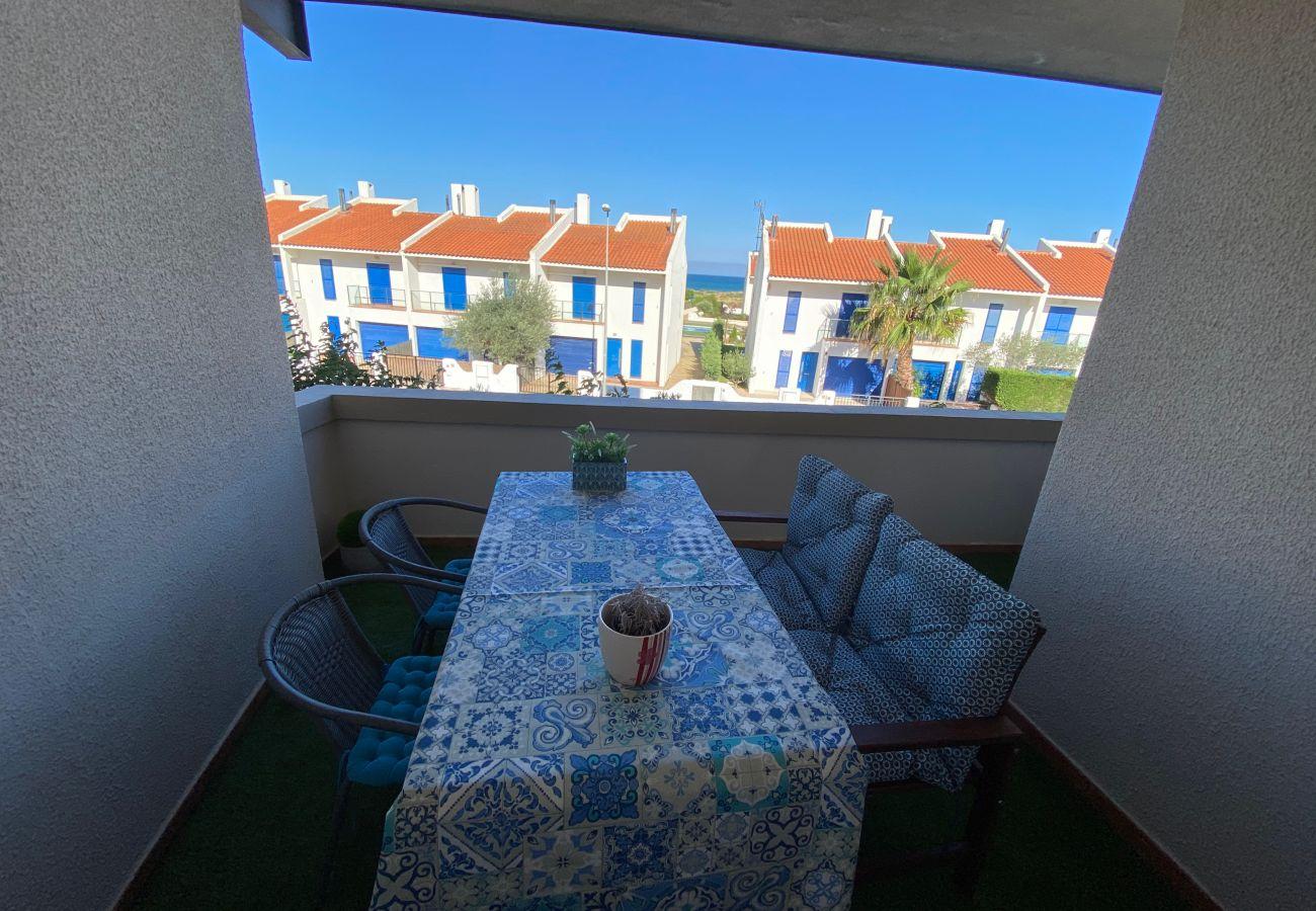 Apartment in Torroella de Montgri - Apartment with sea views, airco, pool